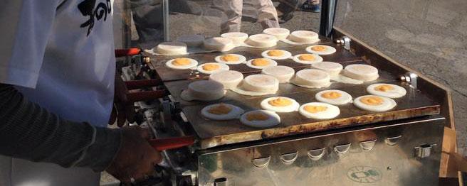 昔の味たまご農場特性お菓子「たまご焼」