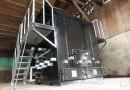 有機性廃棄物処理装置パグマがやって来ました。