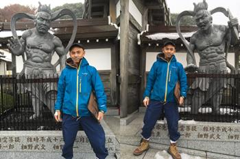 阿吽の金剛力士像