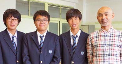 プロテニスプレーヤーそして金沢総合高校の生徒たち。卵屋にとって出会いの秋です。